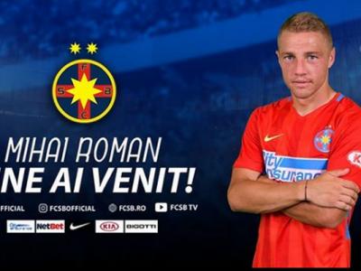 """Mihai Roman a semnat astazi cu FCSB! Ce salariu va incasa si ce prime i-a promis Becali: """"De 10 ani il vreau! Mi-a placut de el"""""""