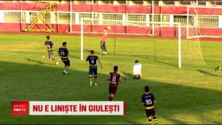 Incearca sa-l faca uitat pe Daniel Niculae in Giulesti! I-a cucerit pe fani, dupa ce a dat goluri cu calcaiul