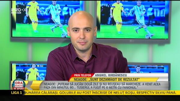 "Anghel Iordanescu: ""Omrani ar trebui naturalizat pentru echipa nationala"