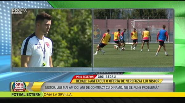 "Becali: ""Dau 3 milioane de euro pentru Mitrita"""