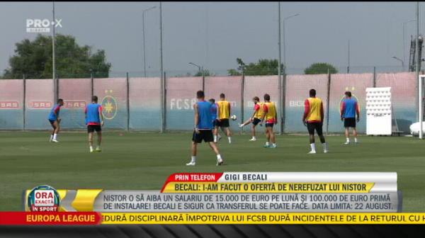 "Becali: ""Dinamo nu are niciun motiv sa refuze oferta pentru Nistor"""