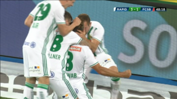 RAPID VIENA - FCSB 3-1 | Horror in aparare, ratari colosale ale atacului! FCSB pierde in Austria dupa 2 bare in ultimele minute si are nevoie de un meci PERFECT la retur! VIDEO