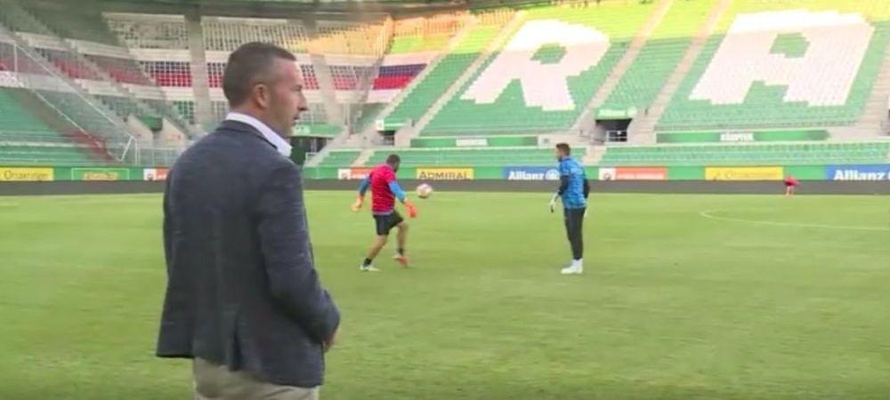 """RAPID VIENA - FCSB, 21:30, PRO TV   """"Bai, stii ca sunt fanul tau no.1, nu? Stii asta?!"""" Jucatorul care l-a impresionat pe Mihai Stoica in acest sezon"""