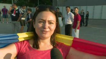 "RAPID VIENA - FCSB | Cel mai tare suporter al stelistilor e o fata! ""Mi-as fi dat si demisia ca sa ajung aici"" | VIDEO"