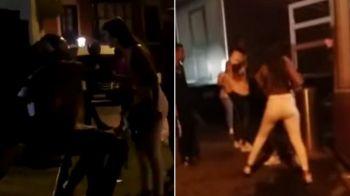 Imagini incredibile cu un jucator din La Liga: a fost la un pas sa se ia la bate cu logodnica pe strada! Ce s-a intamplat