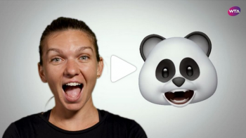 SIMONA HALEP, US OPEN | Numarul 1 mondial, protagonista unui clip amuzant publicat de WTA! Cum imita un panda si o vulpe