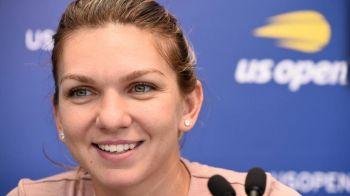"""""""Ma simt din nou puternica. Sunt un numar 1 adevarat!"""" Ce a spus Simona Halep inainte de primul meci de la US Open"""