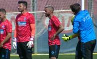 VIDEO: Primele imagini cu Zlatinski la FCSB! Cand va debuta fostul capitan al Craiovei in echipa lui Dica