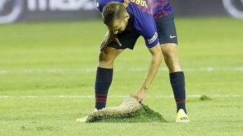 """Barcelona, revoltata: gazon """"oltenesc"""" in La Liga! """"Nu se poate, e o rusine!"""""""