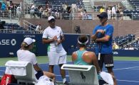 US OPEN | Simona Halep si Irina Begu, antrenament comun inainte de primele meciuri. Ambele joaca luni, de la ora 18:00