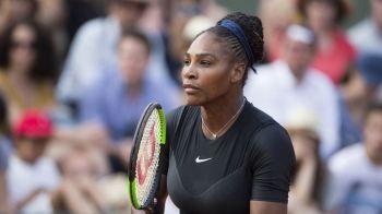 Replicata data de Serena Williams dupa ce i-a fost criticat echipamentul de la Roland Garros de catre Presedintele Federatiei Franceze