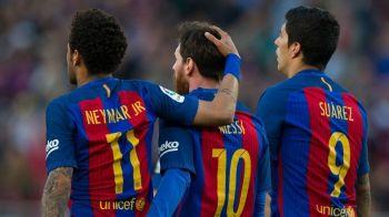 Neymar, vizita supriza la antrenamentul Barcelonei! Brazilianul s-a intors la fostii colegi