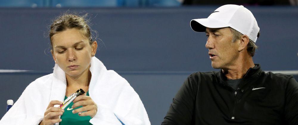 Renunta Halep la Darren Cahill?! Raspunsul ferm al romancei dupa infrangerea usturatoare din primul tur al US Open