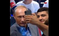 Reactia geniala a lui Putin, cand un luptator de MMA vine sa isi faca un selfie cu el in ring! VIDEO