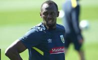 """Imi e greu sa ma adaptez fizic la fotbal!"" Bolt isi pregateste debutul in cariera de fotbalist"
