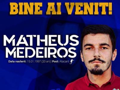 OFICIAL | Steaua Armatei a transferat un brazilian: e atacant si promite promovarea in liga a treia