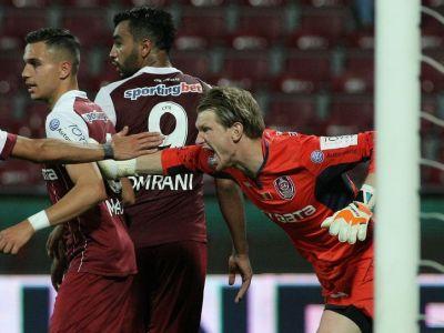 CFR Cluj a anuntat ce se intampla cu Arlauskis, dupa zvonurile unei rupturi intre portar si conducere!
