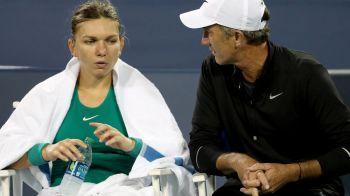 """Prima reactie a lui Darren Cahill dupa eliminarea Simonei Halep de la US Open: """"Ea stie care sunt problemele ei. Trebuie sa renunte la asta!"""""""