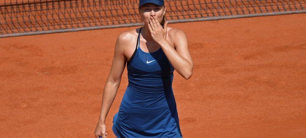 "Sharapova ii da peste nas Simonei Halep: ""Nu te poti speria de zgomot daca vrei sa fii campioana la New York"""