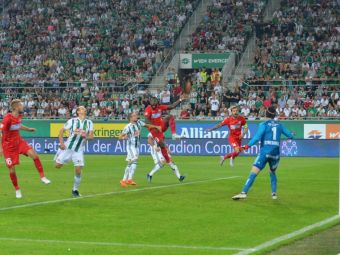 FCSB - Rapid Viena, in direct la PRO TV | Probleme la austrieci! Un titular s-a accidentat la antrenamentul de pe National Arena: E victima gazonului
