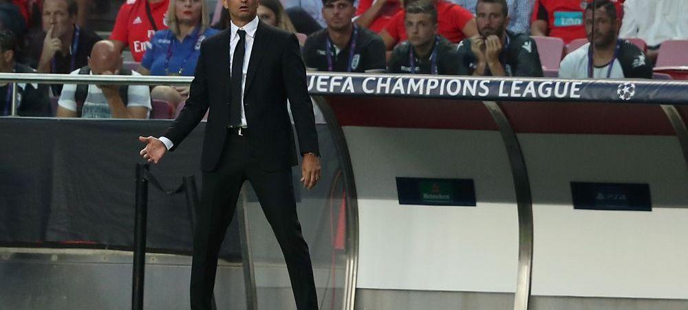 """Reactia lui Razvan Lucescu dupa ce PAOK a fost eliminata de Benfica in play-off-ul UEFA Champions League: """"Asta-i fotbalul, sunt foarte multumit de baieti!"""""""