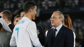 Intalnire de gradul III la tragerea la sorti pentru grupele UEFA Champions League! Cristiano Ronaldo, fata in fata cu Florentino Perez