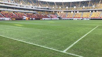 """FOTO // Alerta inainte de FCSB - Rapid Viena: terenul arata rau, stelistii sunt ingrijorati: """"Nu tine mai mult de o repriza!"""""""