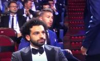 Momentul nevazut al tragerii la sorti! Sergio Ramos si Salah s-au intalnit pentru prima data dupa finala UCL! Gestul fundasului