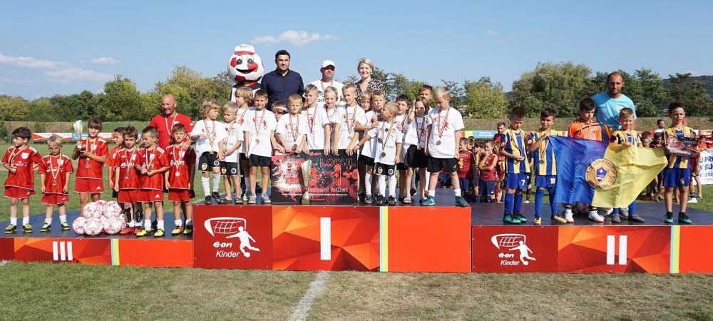 (P) In seria a doua, trofeele E.ON Kinder au ajuns la CSC Ghiroda si Academia U Luceafarul Cluj