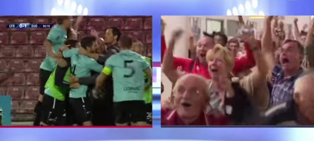 """Ooo, Sinaniiii, CALIFICASION!"" VIDEO: Reactia formidabila a comentatorilor luxemburghezi la golurile lui Dudelange"