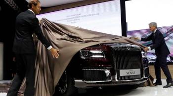 Masina lui Putin se vinde la liber! Cat costa mandria industriei auto din Rusia // FOTO