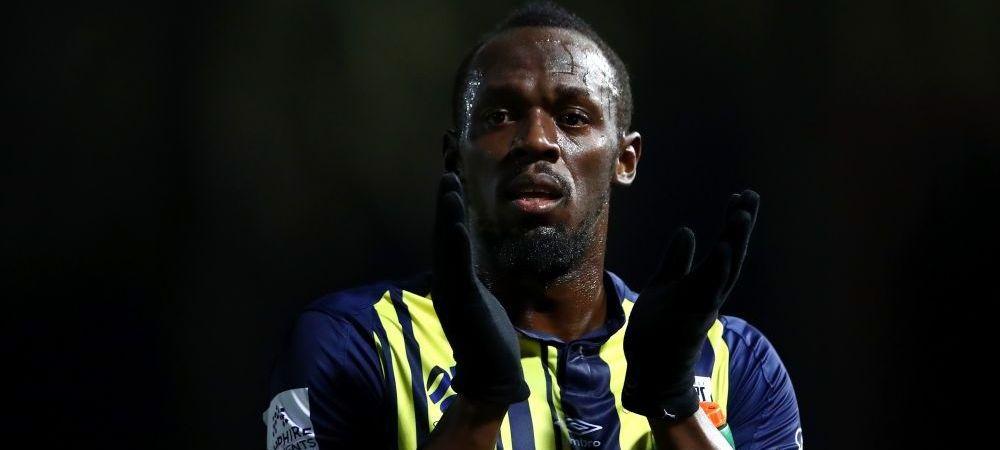Usain Bolt a debutat ca fotbalist la Central Coast Mariners! Jamaicanul a fost aproape sa marcheze | FOTO&VIDEO