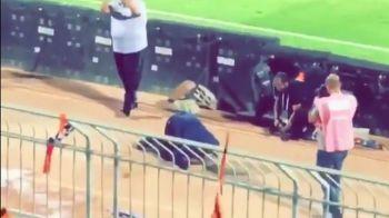 Imagini EPOCALE cu Sumudica dupa prima victorie cu Al-Shabab! S-a pus in genunchi in fata camerei si a pupat terenul! Ce a urmat