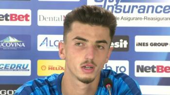 """Andrei Vlad le-a cerut scuze fanilor pentru gafa cu Rapid Viena: """"Sper sa ajung portar mare!"""" Ce i-a spus Becali astazi"""