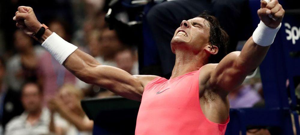CE NEBUNIE! Meci de POVESTE pentru Rafa Nadal la US Open! Victorie incredibila dupa peste 4 ore de joc