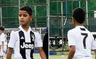 Juventus a dat lovitura, de fapt, cu Cristiano Ronaldo Jr :)) Ce a putut sa faca fiul Balonului de Aur la debut