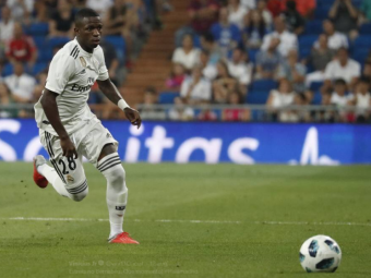 Reusita DE SENZATIE a lui Vinicius! Golul NECRUTATOR marcat de brazilian sub privirile lui Lopetegui   Reactia geniala a antrenorului lui Real