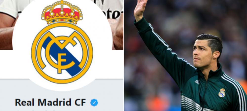 Abia acum s-a aflat numarul! Cati fani a pierdut Real Madrid pe retelele sociale in ziua in care Cristiano Ronaldo a fost prezentat la Juventus