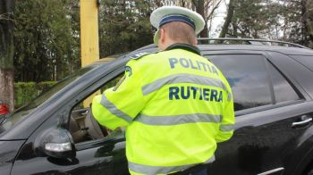 Sofer surprins cu 235 de KM/H in Romania FARA PERMIS! Ce pedeapsa a primit din partea Politiei