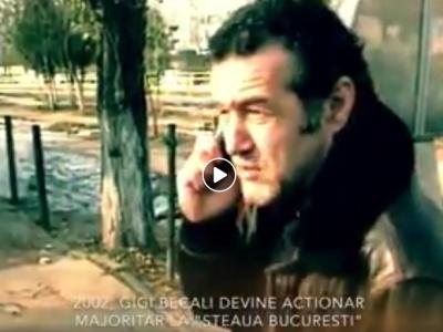 VIDEO: Telefonul care a schimbat istoria Stelei! Ce i-a spus Gigi Becali lui Hrebenciuc, in parcarea stadionului Ghencea