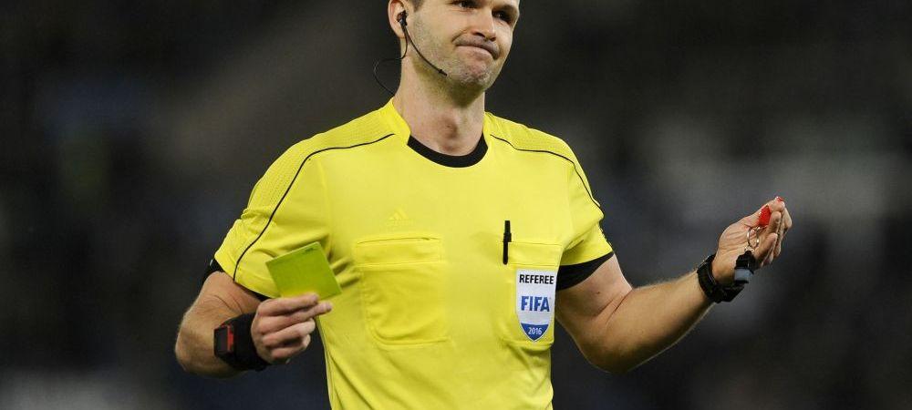 Romania debuteaza in Nations League cu arbitrul cu care s-a calificat la ultimul EURO! UEFA a anuntat pe cine trimite la Romania - Muntenegru, vineri seara, 21:45, ProTV