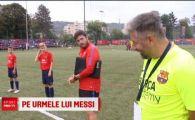 """Barcelona il cauta pe noul Messi in Romania! """"Imi doresc sa fiu un fotbalist mare!"""""""