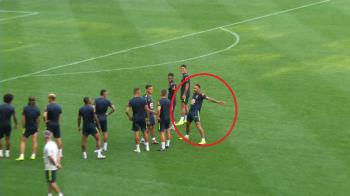 Neymar il COPIAZA pe Cristiano Ronaldo! Brazilianul a imitat celebrul gest de bucurie a portughezului! VIDEO