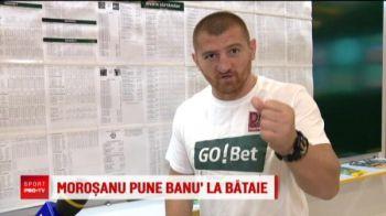 Morosanu a pus la pariuri si-i ameninta cu BATAIA pe jucatorii nationalei daca nu bat Muntenegru! :)) VIDEO GENIAL