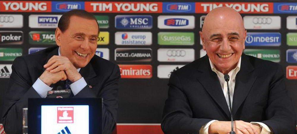 Surpriza uriasa! Silvio Berlusconi REVINE in fotbal! Ce club a cumparat in Italia