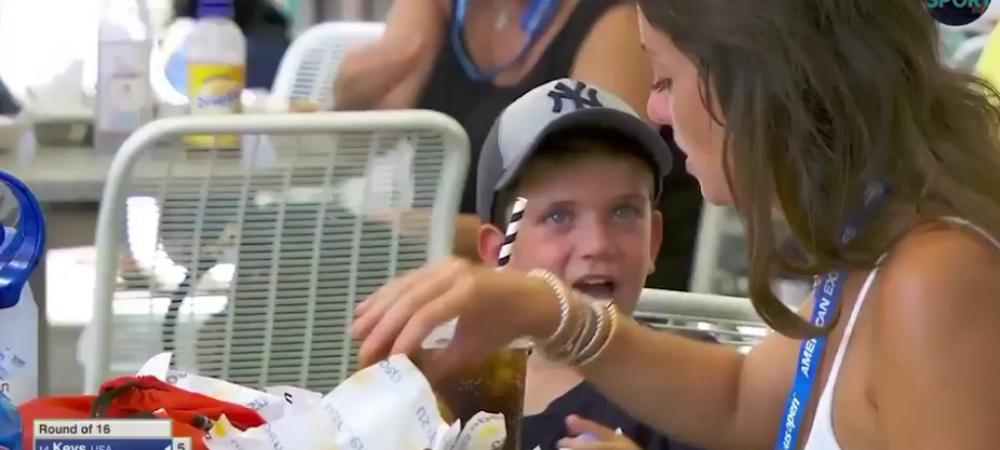 """""""Chem politia, trebuie ARESTATA imediat!"""" Ce a facut aceasta femeie in fata unui copil la US Open. VIDEO"""
