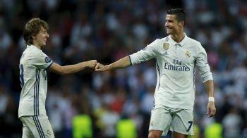 Cristiano Ronaldo i-a scris lui Modric! Mesajul portughezului dupa ce a pierdut premiul pentru cel mai bun jucator al sezonului trecut in Champions League!