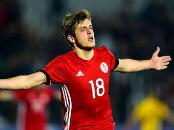 VIDEO: Un georgian in varsta de 19 ani o ia pe urmele lui Bale! Super reusita in Kazahstan - Georgia 0-2