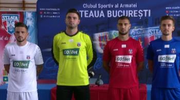 CSA Steaua si-a prezentat noile echipamente! Care este obiectivul pentru sezonul urmator | FOTO