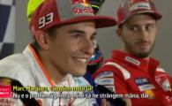 Scandal intre cei mai buni doi piloti din MotoGP! Papa i-a primit la Vatican pe Rossi si Marquez, dar cei doi n-au vrut sa faca pace